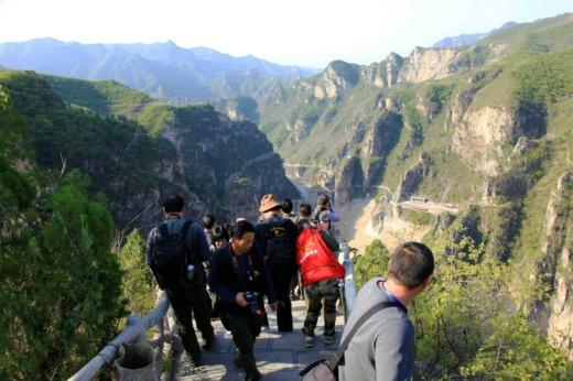 中国风景区摄影网双百摄影师 走进青龙峡,峰林峡采风